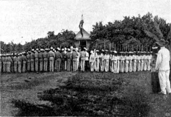 Acte de traspàs de l'illa de Yap d'Espanya a Alemanya, el 1899.